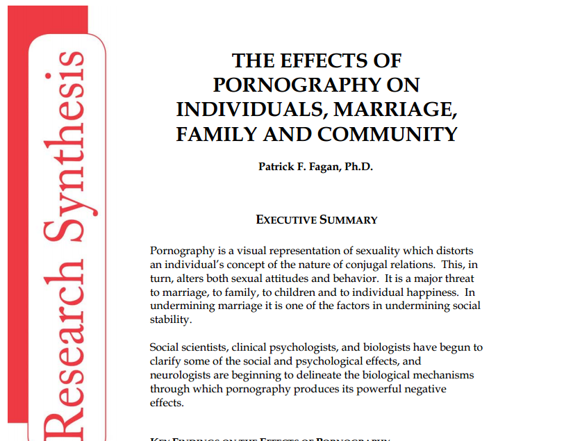 effects of pornography on sexual behavior The effects of pornography what is pornography porn has been shown to affect the behavior of the individual that views it it might start of innocent maybe only viewing soft porn, no describing the horrific effects of pornography on these populations would take an entirely different setting to discuss.